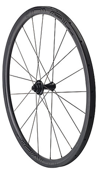 SPECIALIZED CLX 32 TUBULAR DISC FRONT SATIN CARBON/GLOSS BLACK 2017