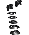 HDS MY19 VENGE HEADSET SPACER KIT, TOTAL 9PC ASSEMBLY